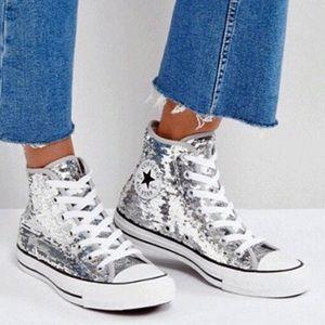 Converse Sequin Sneakers